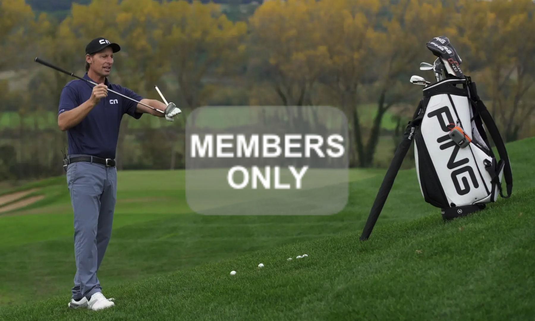 Golftraining in Schräglagen | Hanglagen im Golf lernen Videoportal erklärt | Die Balllage oberhalb